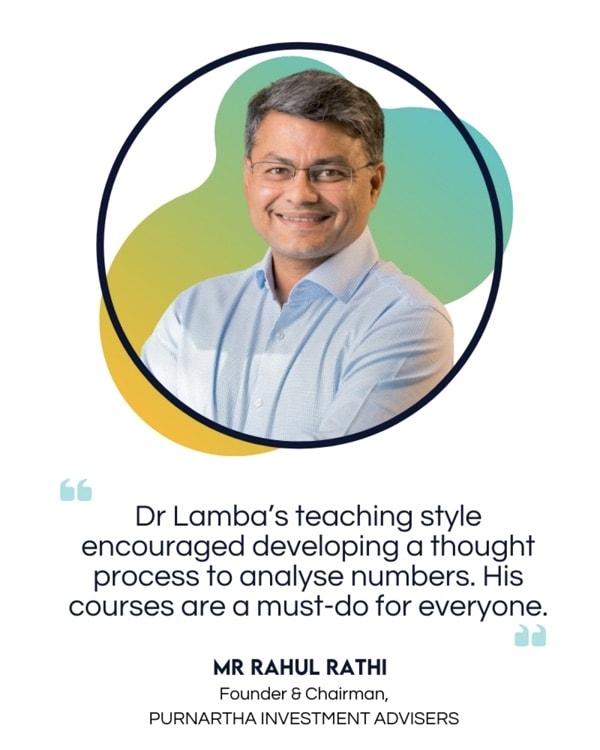 Mr Rahul Rathi-lamcon